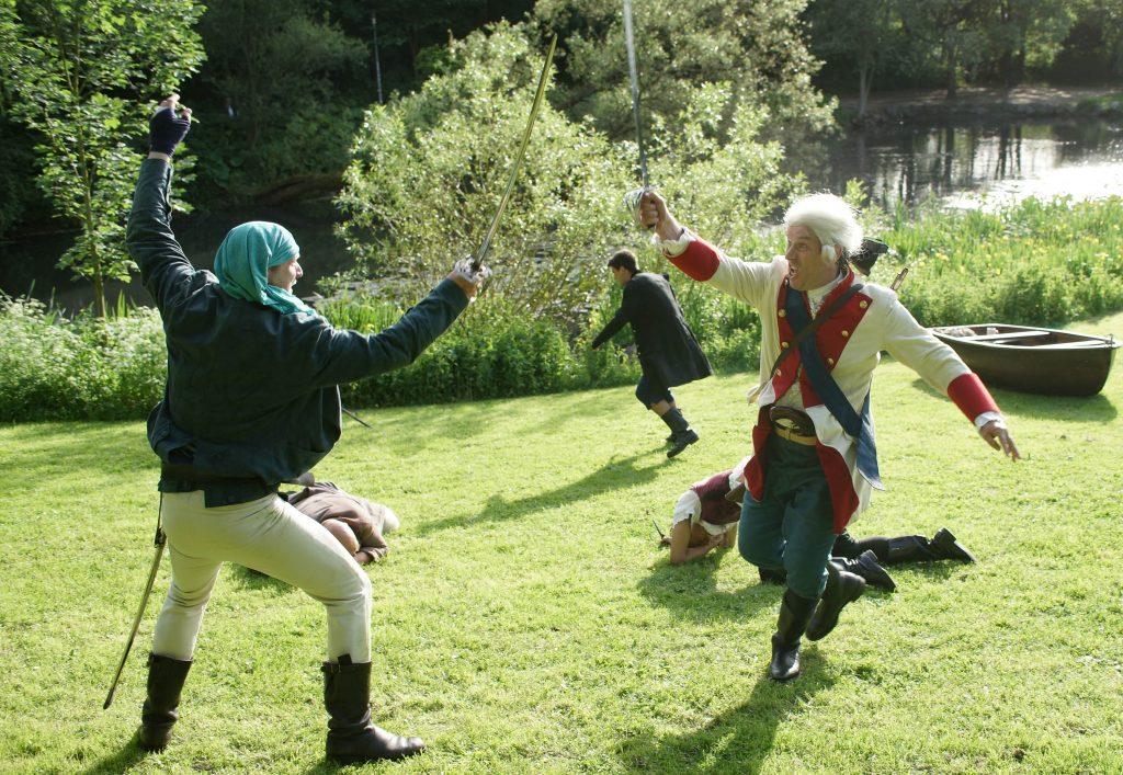 Die Schatzinsel Kampfchoreographie mit Piraten
