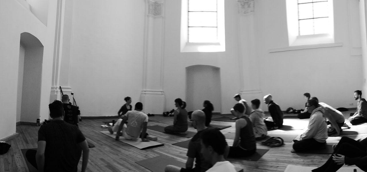 Impressionen vom Bäm und Om Yogagruppe 2017