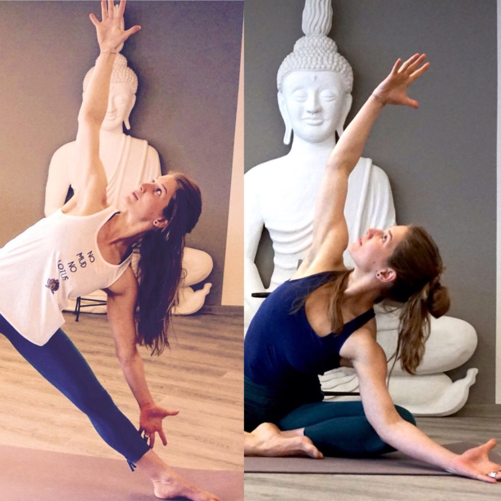 Franzy Deutscher Yoga Trikonasana und Variation